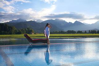 Das König Ludwig Wellness & Spa Resort Allgäu