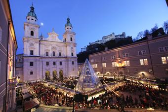 Salzburger Christkindlmarkt - Weihnachten in seiner traditionellen Form